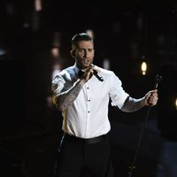 Adam Levine performs 'Lost Stars' live at the Oscars 2015