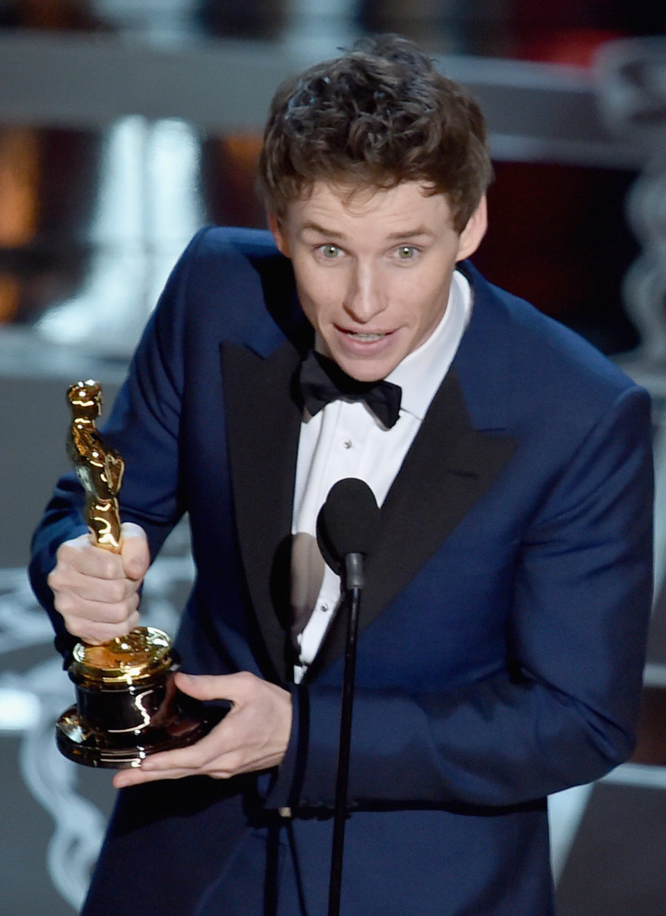 Eddie Redmayne gana el premio de Mejor Actor en los Oscar 2015