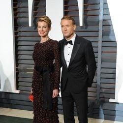 Tim McGraw y Faith Hill en la alfombra roja de los Oscar 2015