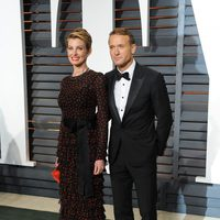 Tim McGraw y Faith Hill en la alfombra roja de los Oscar 2015