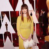 Andrea Riseborough en la alfombra roja de los Oscar 2015