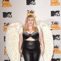 Rebel Wilson durante la ceremonia de los MTV Movie Awards 2015