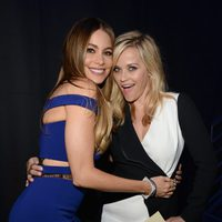 Sofia Vergara y Reese Witherspoon durante la ceremonia de los MTV Movie Awards 2015