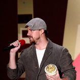 Channing Tatum durante la ceremonia de los MTV Movie Awards 2015