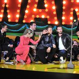 Los Vengadores se arrollidan ante Robert Downey Jr. en los MTV Movie Awards 2015