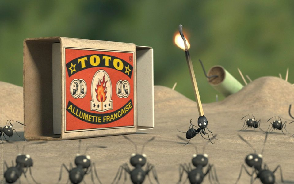 Minúsculos: El valle de las hormigas perdidas, fotograma 21 de 24