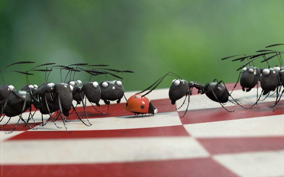Minúsculos: El valle de las hormigas perdidas, fotograma 20 de 24