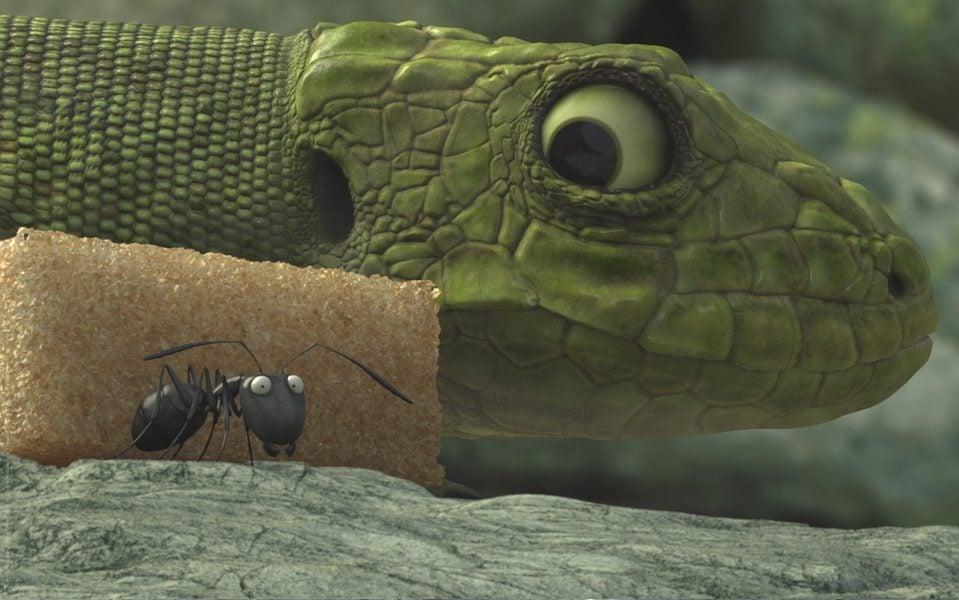 Minúsculos: El valle de las hormigas perdidas, fotograma 9 de 24