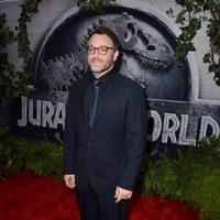 Colin Trevorrow at the 'Jurassic World' premiere in Hollywood