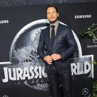 Chris Pratt en la premiere de 'Jurassic World' en Los Ángeles