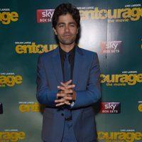 Adrian Grenier en el photocall del estreno europeo de 'Entourage'