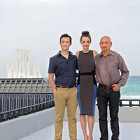 Los protagonistas de 'The Walk' en el Summer of Sony 2015
