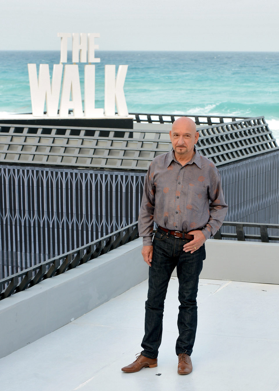 Ben Kingsley presenta 'The Walk' en el Summer of Sony 2015