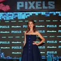 Michelle Monaghan presenta 'Pixels' en el Summer of Sony 2015