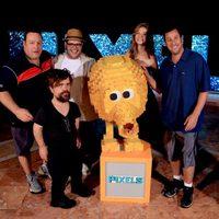 El equipo de 'Pixels' en el Summer of Sony 2015