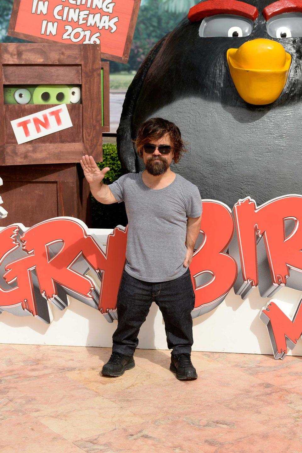 Peter Dinklage presenta 'Angry Birds' en el Summer of Sony 2015