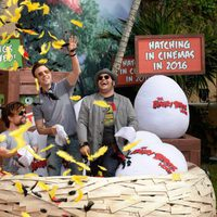 Los protagonistas de 'Angry Birds' anidan en Cancun