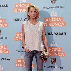 Ana Fernández García en la premiere de 'Ahora o nunca'