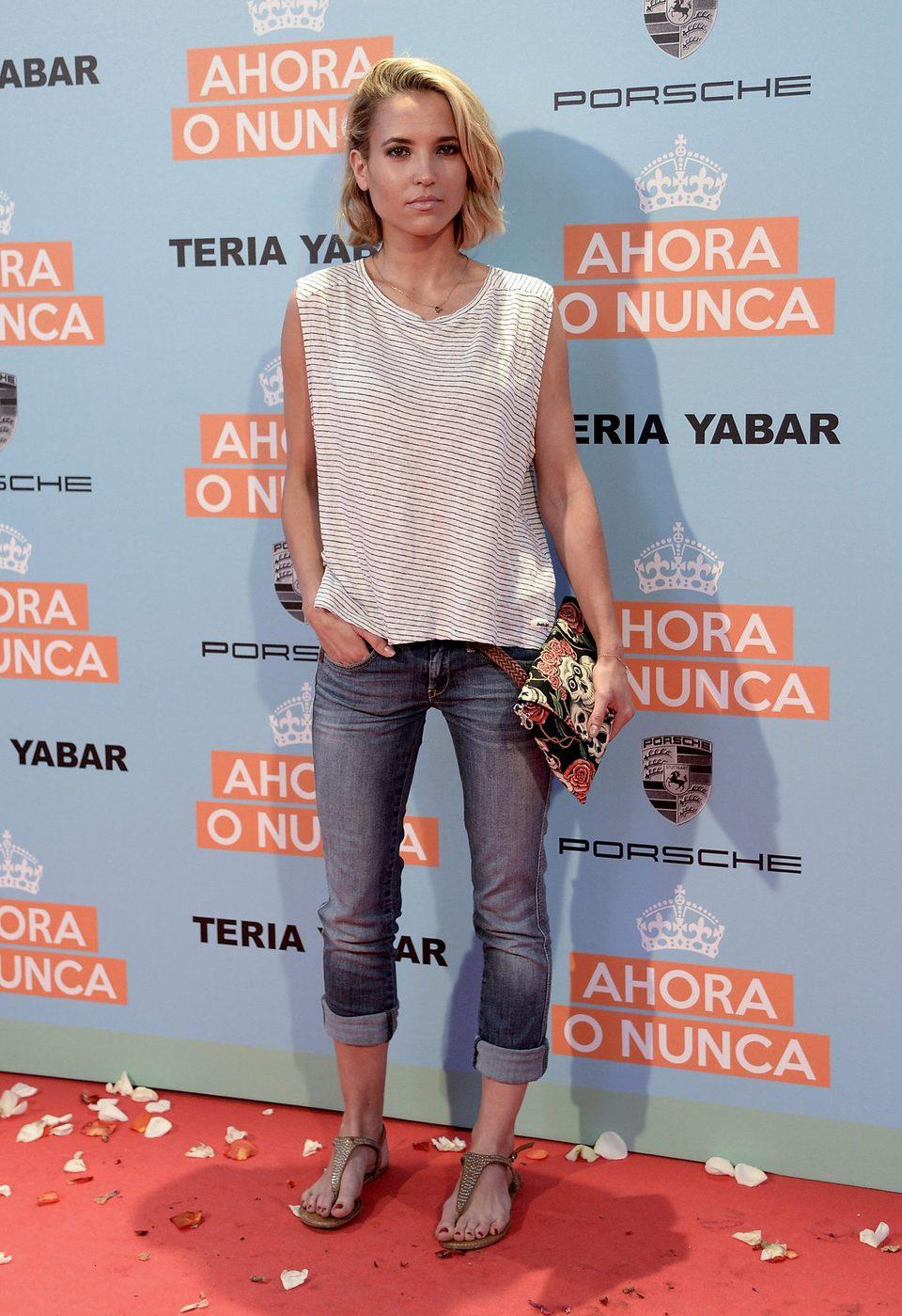 Ana Fernández García ana fernández garcía en la premiere de 'ahora o nunca