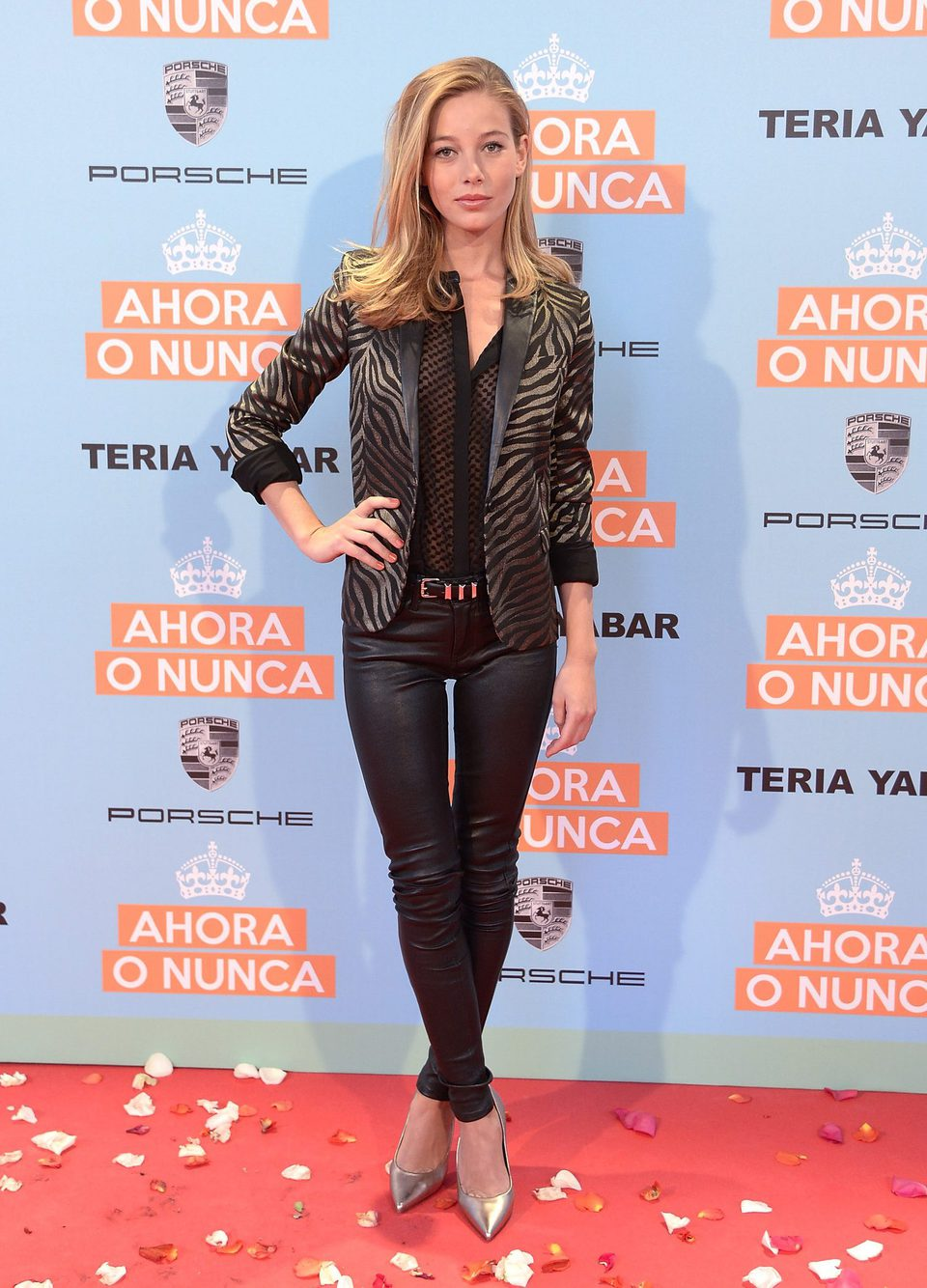 Charlotte Vega en la premiere de 'Ahora o nunca'