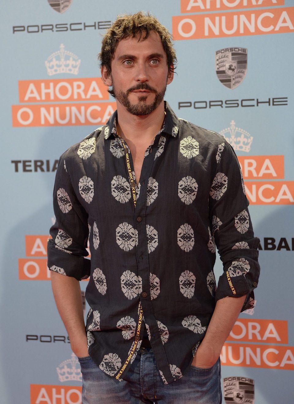 Paco León en la premiere de 'Ahora o nunca'