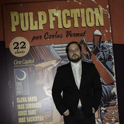 Carlos Vermut en el photocall de One Night Only: 'Pulp Fiction'