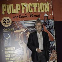 José Sacristán en el photocall de One Night Only: 'Pulp Fiction'