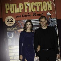Bárbara Santa-Cruz y Sergio Peris-Mencheta en el photocall de One Night Only: 'Pulp Fiction'