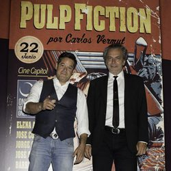 Jorge Sanz y José Coronado en el photocall de One Night Only: 'Pulp Fiction'