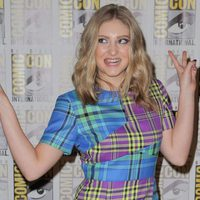 Willow Shields divirtiéndose en la Comic-Con 2015