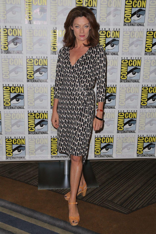 Michelle Gomez en la Comic-Con 2015