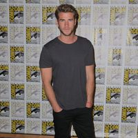 Liam Hemsworth en la Comic-Con 2015