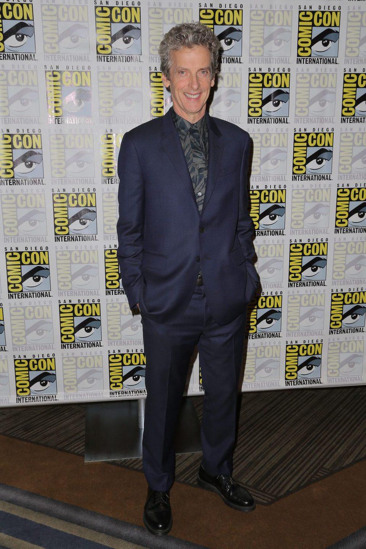 Peter Capaldi en la Comic-Con 2015