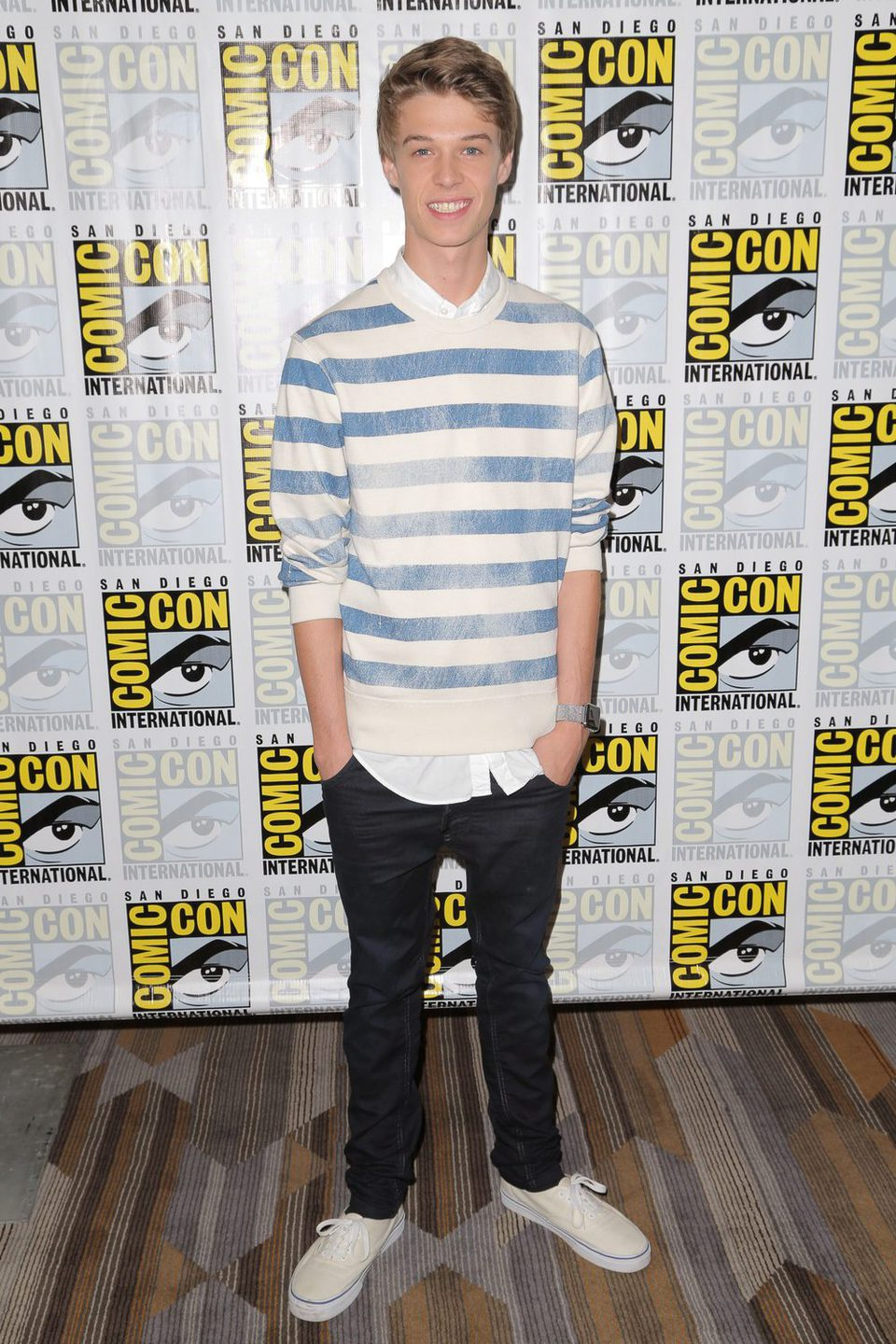 Colin Ford en la Comic-Con 2015