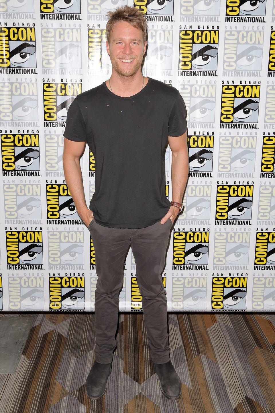 Jake McDorman en la Comic-Con 2015