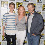 Marg Helgenberger, Mike Vogel y Colin Ford en la Comic-Con 2015
