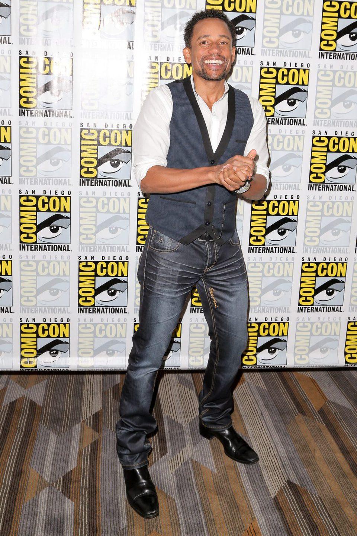 Hill Harper en la Comic-Con 2015
