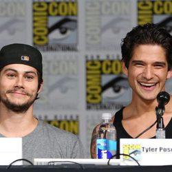 Dylan O'Brien y Tyler Posey en la Comic-Con 2015