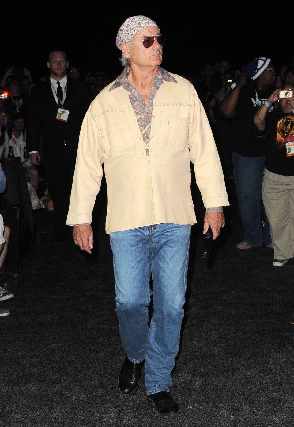 Bill Murray en la Comic-Con 2015