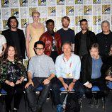 El equipo de 'Star Wars: El despertar de la Fuerza' en la Comic-Con 2015