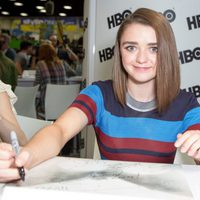 Maisie Williams en la Comic-Con 2015