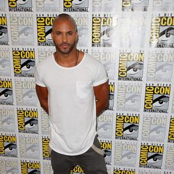 Ricky Whittle en la Comic-Con 2015