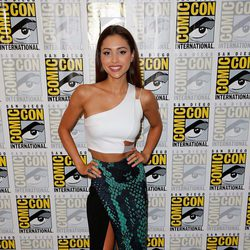 Lindsey Morgan en la Comic-Con 2015