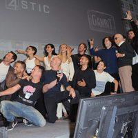 El equipo de superhéroes de Fox se hace un selfie en la Comic-Con 2015