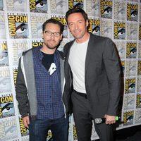 Bryan Singer y Hugh Jackman en la Comic-Con 2015