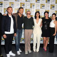 El equipo de 'Deadpool' y Stan Lee en la Comic-Con 2015