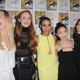 Las protagonistas femeninas de 'X-Men: Apocalypse' en la Comic-Con 2015