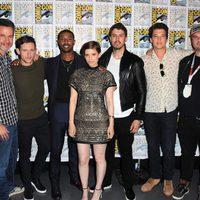 El equipo de 'Cuatro Fantásticos' en la Comic-Con 2015