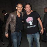 Ryan Reynolds y Channing Tatum en la Comic-Con 2015