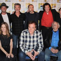El equipo de 'The Hateful Eight' en la Comic-Con 2015